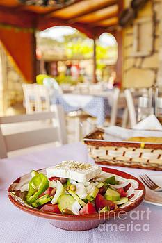 Sophie McAulay - Greek salad