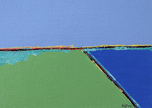 Green landscape by Brooke Baxter Howie