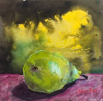 Green Pear by Neva Rossi