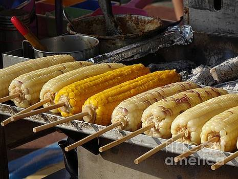 Grilled Corn on the Cob by Yali Shi