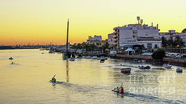 Guadalete River Puerto De Santa Maria Cadiz Spain by Pablo Avanzini