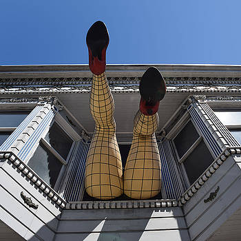 Haight and Ashbury Legs by Dany Lison