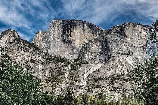 North Face of Half Dome by Tim Sullivan