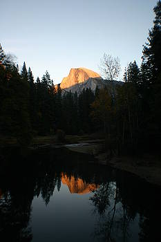 Half Dome Sunset by Travis Day
