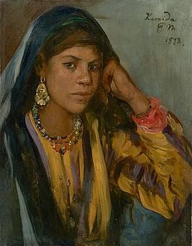 Hamida  by Paul Meyerheim