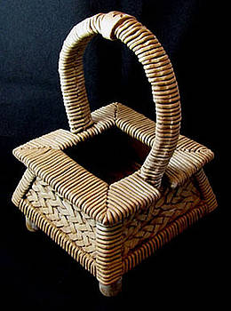 Hanakago Flower Basket by Judy  Hensley