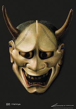 Hannya by Luc Cannoot