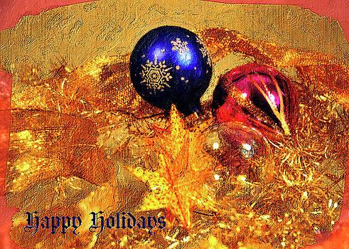 Happy Holidays by Gerlinde Keating - Galleria GK Keating Associates Inc