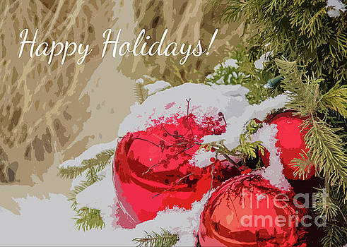 Happy Holidays by Linda Joyce