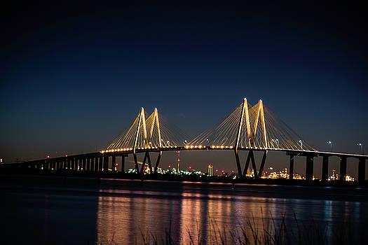 Hartman Bridge At Night by Brandilyn Carpenter