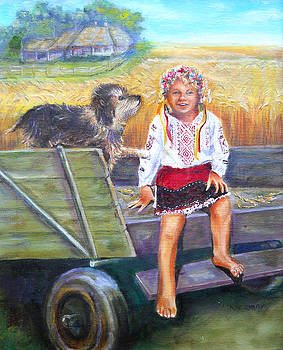 Olga Kaczmar - Harvest in Ukraine