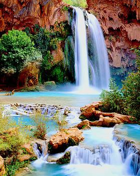 Havasu Falls by Frank Houck