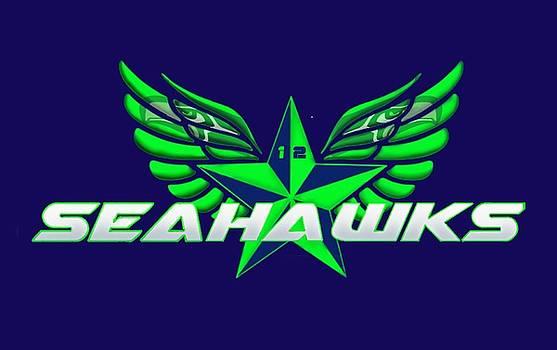 Hawks Wings by Douglas Day Jones