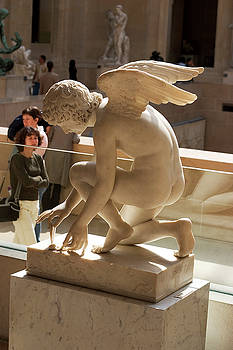 Heavenly Angel at Louvre by Carl Purcell