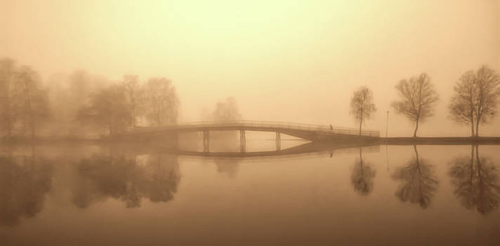 Heavy Fog Over The Gota Canal In Sweden by Pixabay