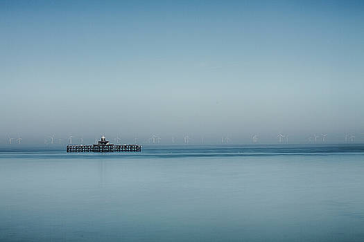 David French - Herne Bay old pier Kent