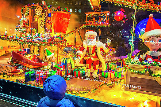 Alexander Image - Holiday Widow Display in New York