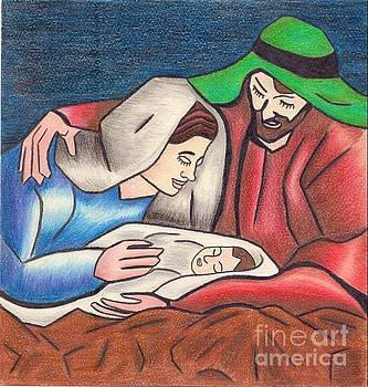 Holy Family by Eman Allam