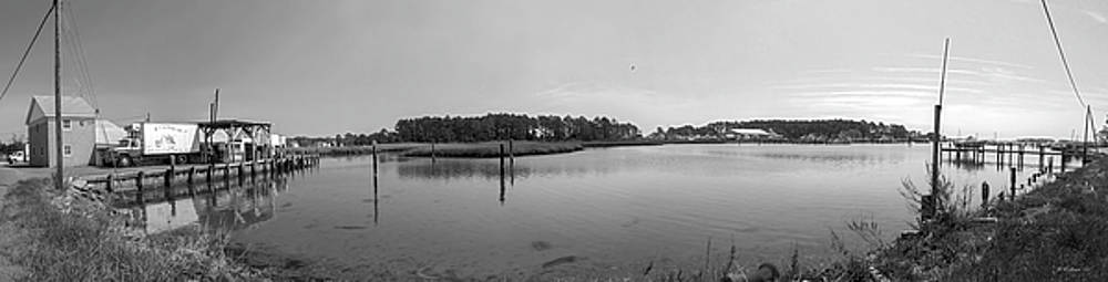 Hoopers Island Honga River - Pano by Brian Wallace