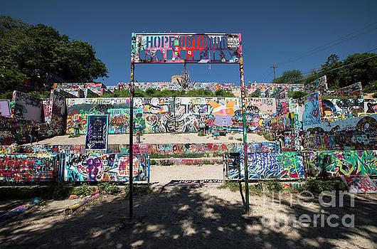 Herronstock Prints - HOPE Outdoor Gallery Austin Texas graffiti wall
