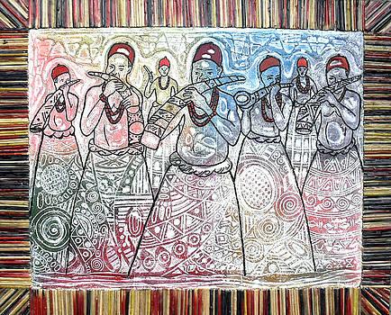 Horn blower by Okemakinde John abiodun