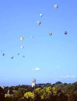 John Bowers - Hot Air Balloons Over Omaha
