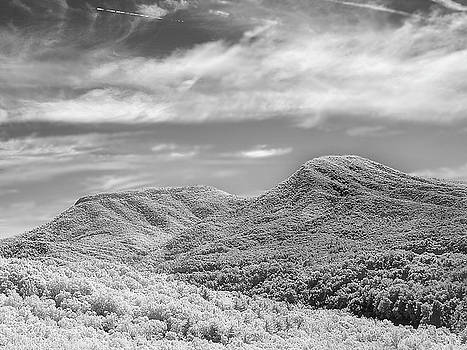 House Mountain in Infrared by Keith Bowen