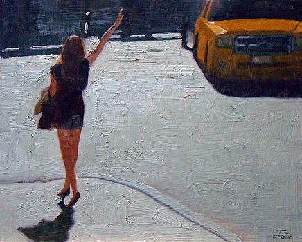 How to hail a cab by Tate Hamilton