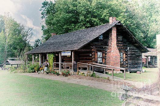 Larry Braun - Huffman Log Cabin