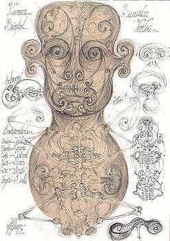 Human vortex by Gabriel Kelemen