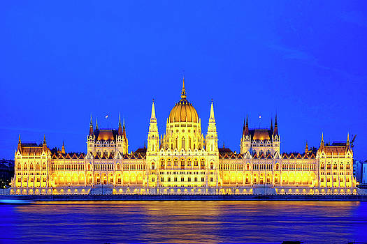 Hungarian Parliament Building by Fabrizio Troiani