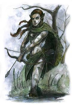 Huntress by Bartek Blaszczec