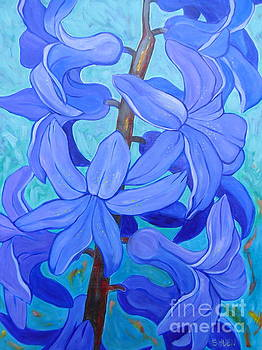 Hyacinths by Sandra Yuen MacKay