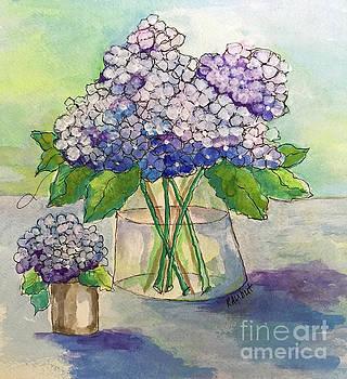 Hydrangea  by Rosemary Aubut