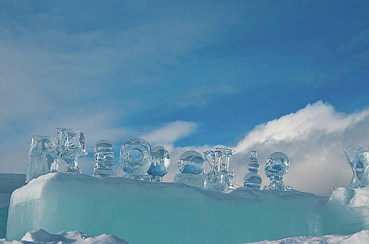 Ice Sculpture by Tamara Sushko