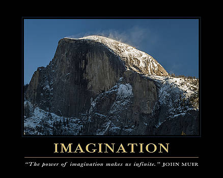 Imagination Motivational Quote by David Simchock