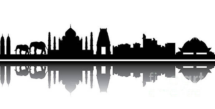 Compuinfoto  - india skyline