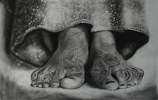 Indian marriage series by Artist Vivekananad Patil