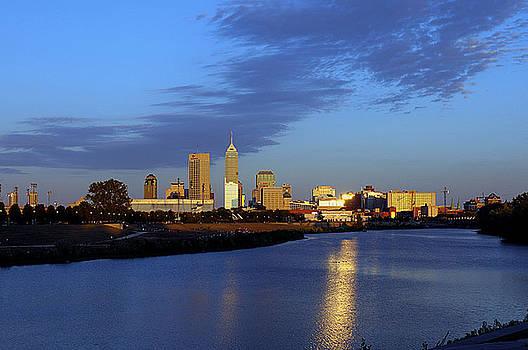 Indianapolis Skyline by Rob Banayote