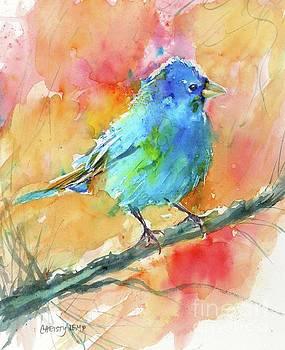 Indigo Bunting by Christy Lemp