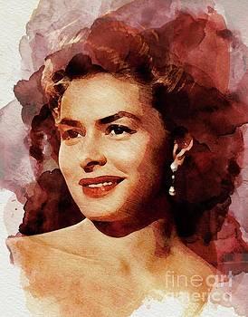 John Springfield - Ingrid Bergman, Vintage Actress