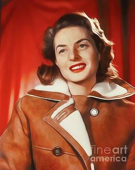 John Springfield - Ingrid Bergman, Vintage Movie Star