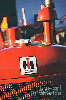 International Harvester Logo by Rachel Barrett