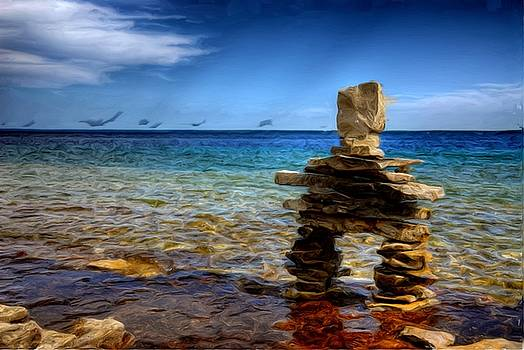 Inuksuk by Anthony Seebaran
