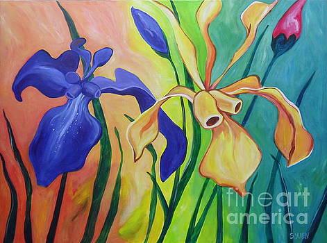 Irises by Sandra Yuen MacKay