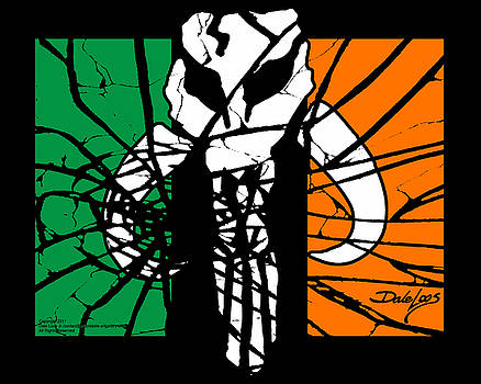 Irish Mandalorian Flag by Dale Loos Jr