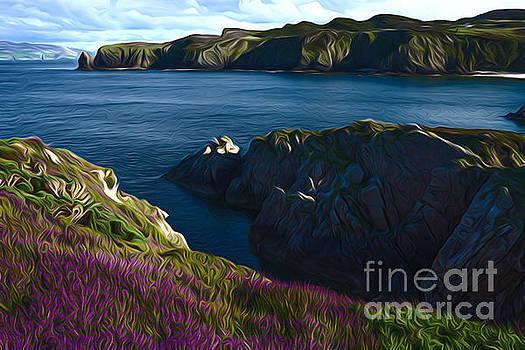 Irish seascape by Andrew Michael