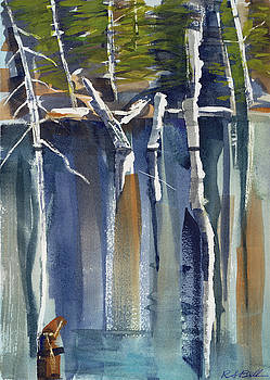 Isle Royale Pond by Randy Bell
