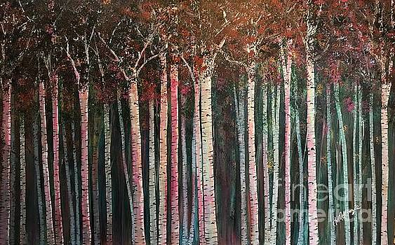 It's Twilight Birches by Heather McKenzie