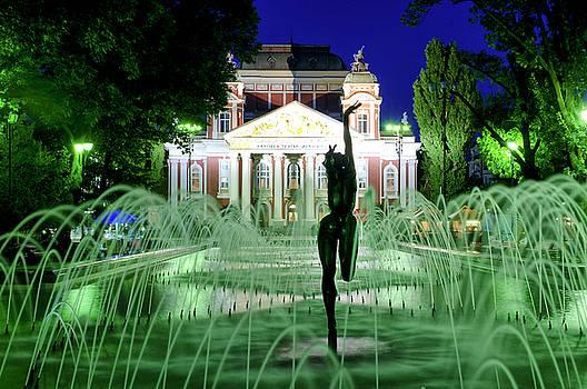 Ivan Vazov National Theatre by Fabrizio Troiani